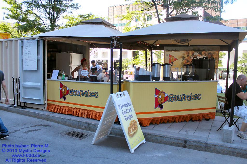 Montreal Food Trucks - Gaufrabec
