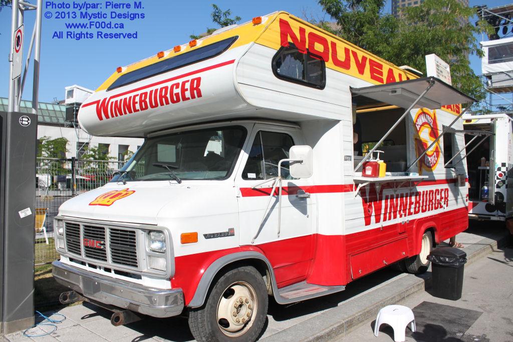 Montreal Food Trucks - Winneburger