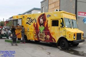 Montreal Food Trucks - Zoe's Food Truck