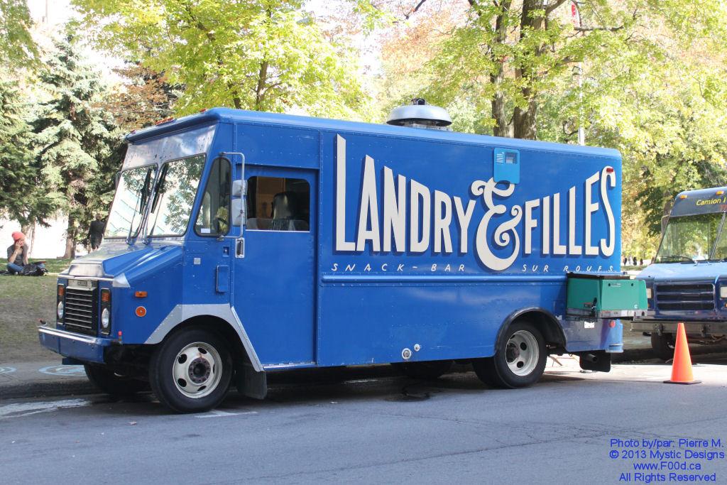 Montreal Food Trucks - Landry & Filles