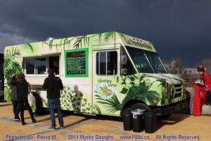 Montreal Food Trucks - La Panthere Verte Mobile