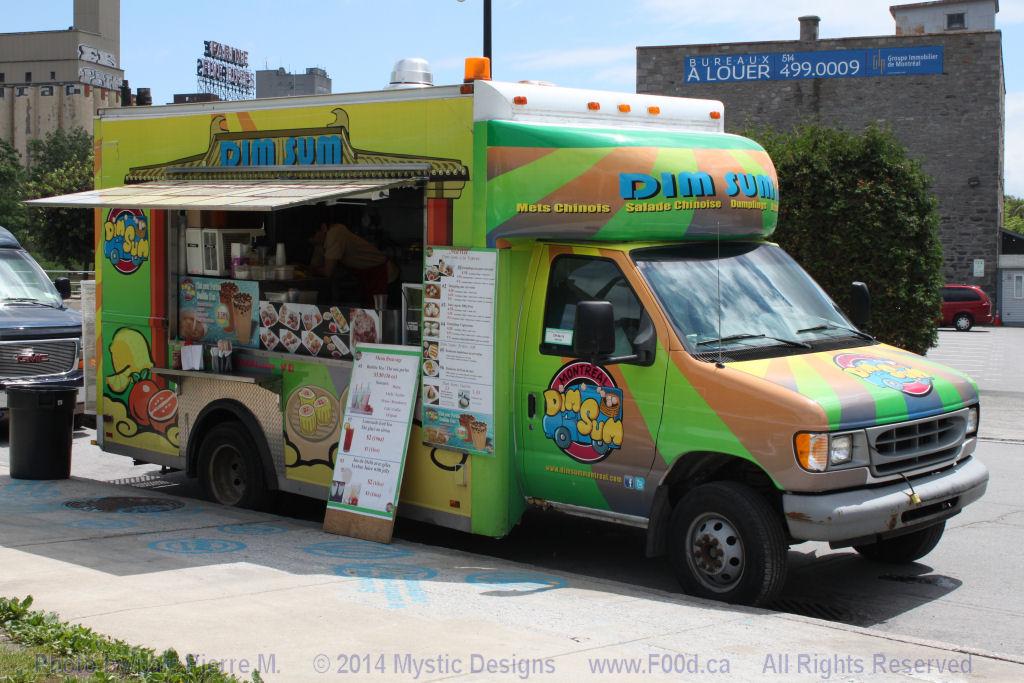 Montreal Food Trucks - Dim Sum MTL