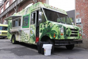 Montreal Food Trucks - La Panthere Verte