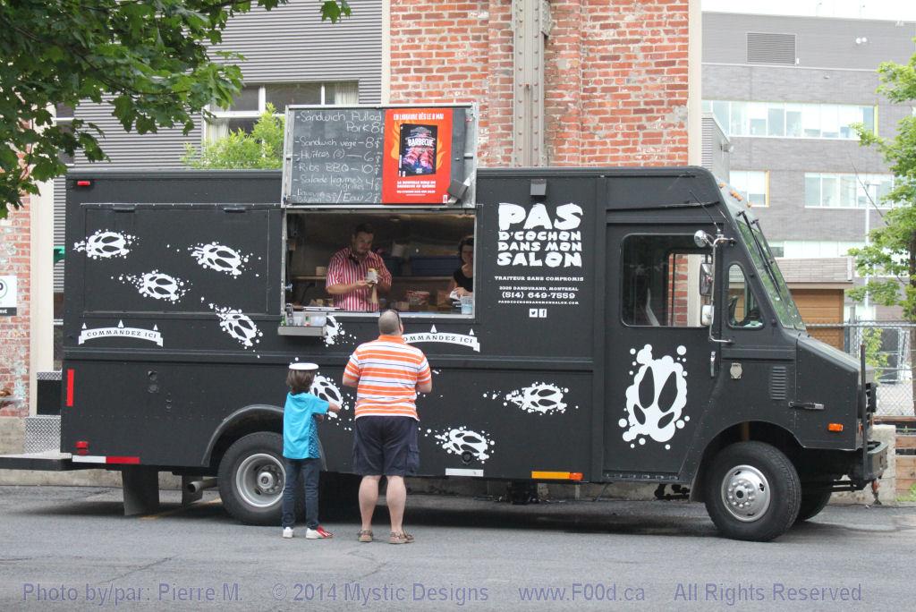 Montreal Food Trucks - Pas d'cochon dans mon salon